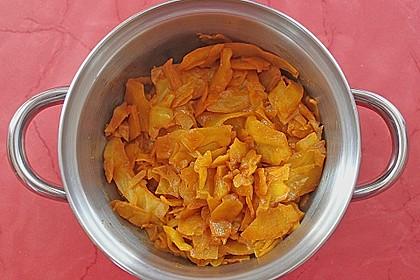 Gebratener Weißkohl auf indische Art 2