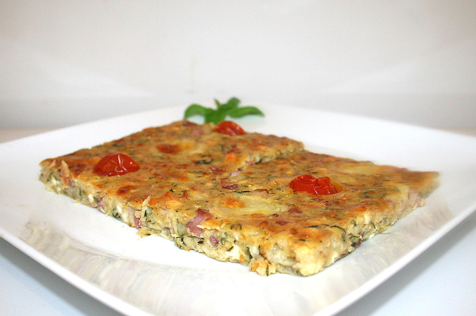 Herzhafter Zucchinikuchen Von Backwahnmary Chefkoch De