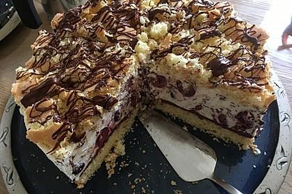 Kirsch - Stracciatella - Torte 2
