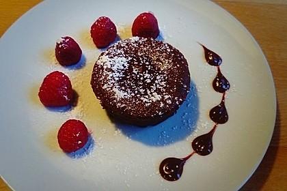 Chocolate Lava Muffins Ein Schmackhaftes Rezept Chefkoch De