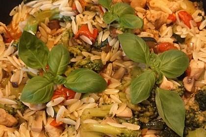 Hähnchen-Gemüse-Pfanne 16