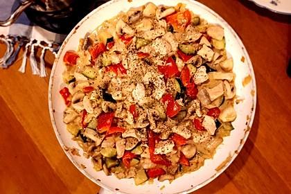 Hähnchen-Gemüse-Pfanne 6