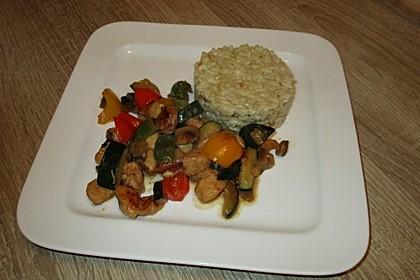 Hähnchen-Gemüse-Pfanne 21