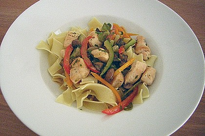 Hähnchen-Gemüse-Pfanne 15