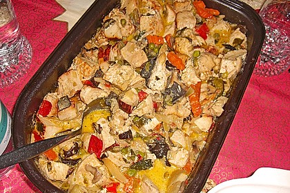 Hähnchen-Gemüse-Pfanne 10