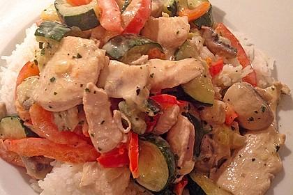 Hähnchen-Gemüse-Pfanne 27