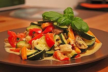 Hähnchen-Gemüse-Pfanne 2