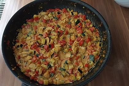 Hähnchen-Gemüse-Pfanne 11