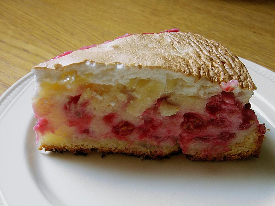 Johannisbeer Baiser Kuchen Von Gummibaerchen Chefkoch De