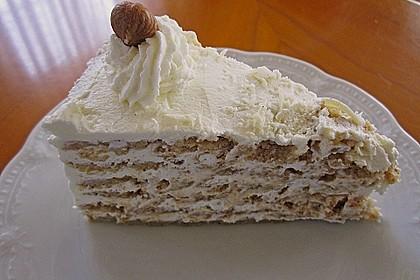 Nuss - Sahne - Torte 2