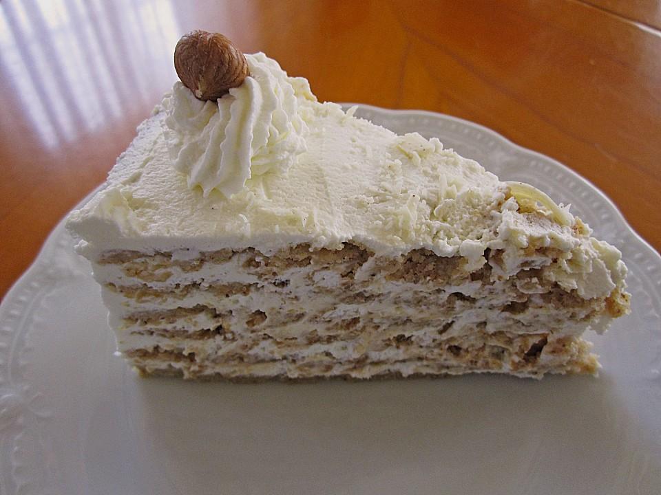 Nuss Sahne Torte Von Schokomaus01 Chefkoch De