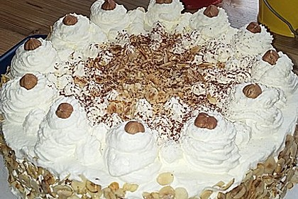 Nuss - Sahne - Torte
