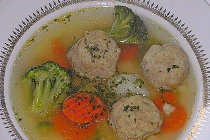 Gemüsesuppe mit Grünkernklößchen 4