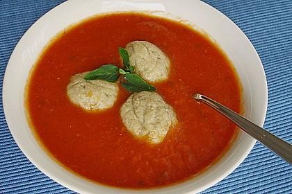 Gemüsesuppe mit Grünkernklößchen 1