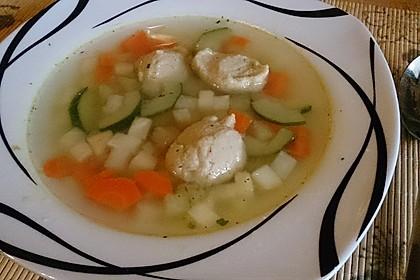 Gemüsesuppe mit Grünkernklößchen 5
