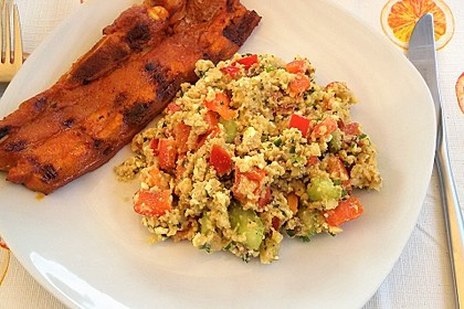 Couscous Salat mit Pesto 7