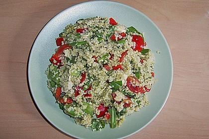 Couscous Salat mit Pesto 3
