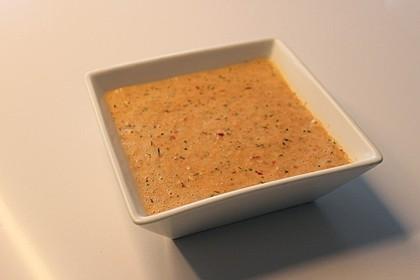 Kalte Paprika - Joghurt - Suppe 3