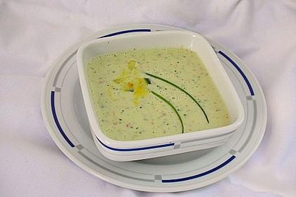 Kalte Paprika - Joghurt - Suppe