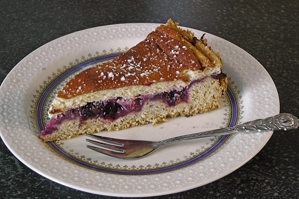 Inschens Saure Sahne Kuchen Mit Johannisbeeren Von