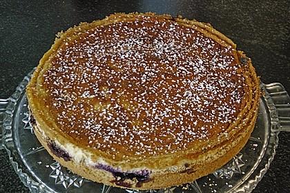 Inschens saure Sahne - Kuchen mit Johannisbeeren