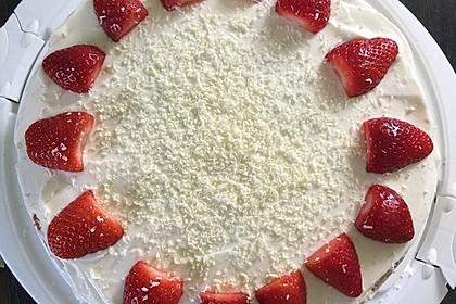 Schnelle Erdbeer - Mascarpone - Torte 12