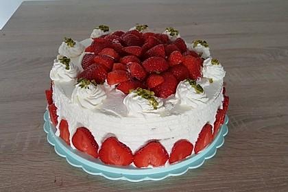 Schnelle Erdbeer - Mascarpone - Torte 30