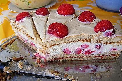 Schnelle Erdbeer - Mascarpone - Torte 53