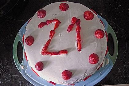 Schnelle Erdbeer - Mascarpone - Torte 50