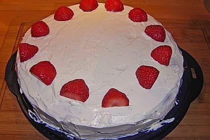 Schnelle Erdbeer - Mascarpone - Torte 41