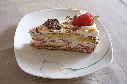 Schnelle Erdbeer - Mascarpone - Torte 25