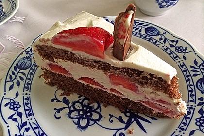 Schnelle Erdbeer - Mascarpone - Torte 20