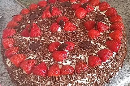 Schnelle Erdbeer - Mascarpone - Torte 31