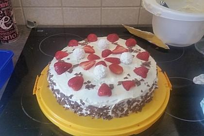 Schnelle Erdbeer - Mascarpone - Torte 36