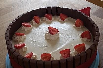 Schnelle Erdbeer - Mascarpone - Torte 9