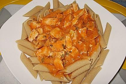 Illes pochierte Hähnchenbrust für Pasta mit Tomatensoße 2