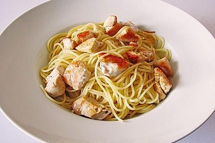 Zitronen - Spaghetti mit Hähnchenfilet 1