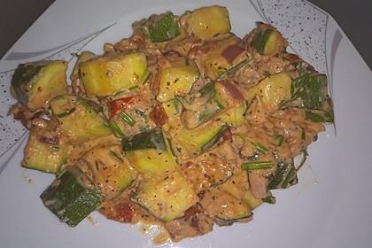 Zucchini - Thunfischpfanne 14