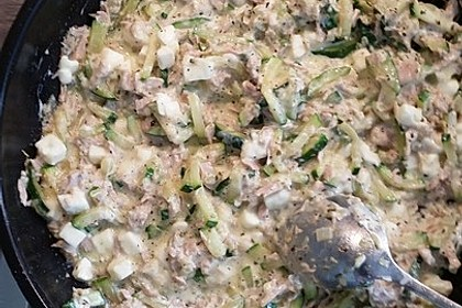 Zucchini - Thunfischpfanne 41