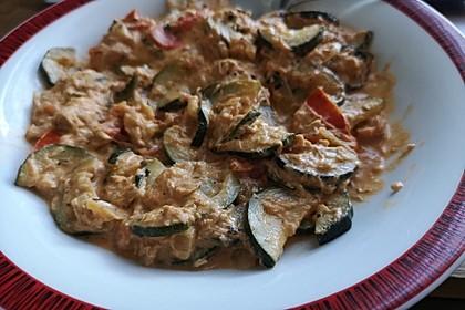 Zucchini - Thunfischpfanne 11