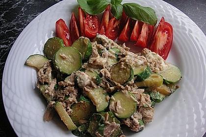 Zucchini - Thunfischpfanne 4
