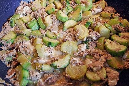 Zucchini - Thunfischpfanne 44