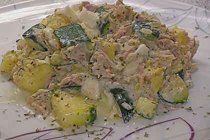 Zucchini - Thunfischpfanne 21