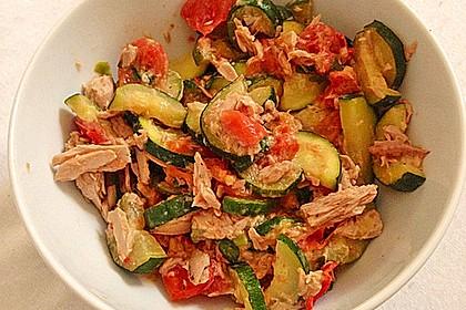 Zucchini - Thunfischpfanne 27