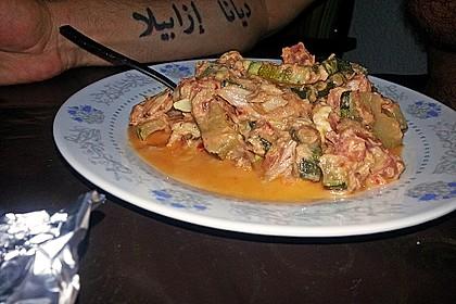 Zucchini - Thunfischpfanne 50