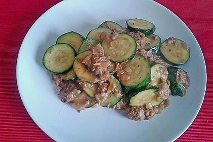 Zucchini - Thunfischpfanne 35