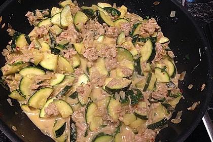 Zucchini - Thunfischpfanne 45