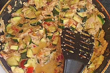 Zucchini - Thunfischpfanne 51