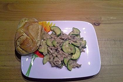 Zucchini - Thunfischpfanne 9