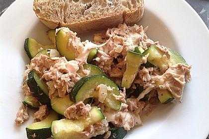 Zucchini - Thunfischpfanne 18